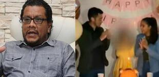 """Tomás Angulo tras post de Melissa Paredes junto a Gato Cuba y su hija: """"Sería un forma de limpiar el error"""""""