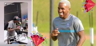 ¡Guardado! Jefferson Farfán recibió su cumpleaños en casa, cuidándose para la final de la Liga 1 [FOTO]