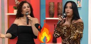 """Janet Barboza calla EN VIVO a Mariella Zanetti: """"El productor ya te ha dicho que no cortes"""""""