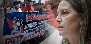 Convocan marcha para este miércoles contra el 'paquetazo laboral' de María del Carmen Alva