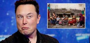 ONU revela que el 2 % de la riqueza de Elon Musk podría resolver el hambre mundial