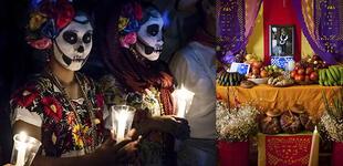 ¿Qué significa el papel picado en el altar de muertos?