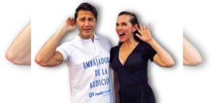 Actores Laly Goyzueta y Mariano Sabato, 20 años de puro amor