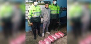 La Libertad: sujeto llevaba en equipaje 12 kilos de marihuana