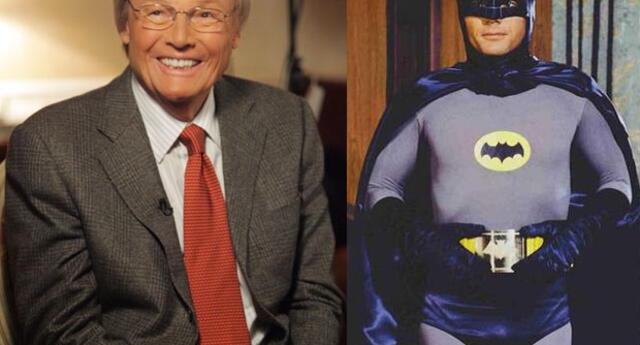 Adam West, quien interpretó a Batman en la serie de TV, cumple 85 años