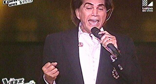 José Luis Rodríguez cautivó con su talento en La Voz Perú.