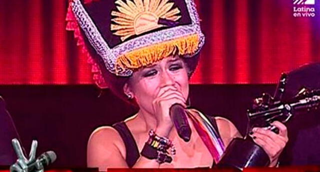 Ganó La voz Perú.