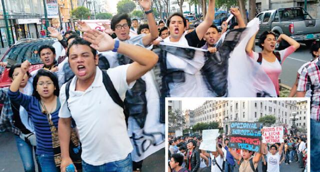 Se calcula que más de 20 mil personas llegaron a nueva jornada de protesta contra polémica ley.