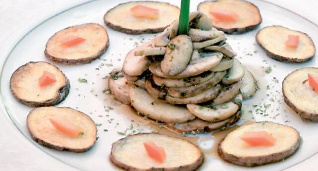 El secreto del chef: No cocines mucho los champiñones ya que tienden a botar mucha agua.