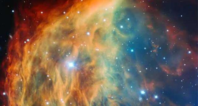 Inceíble imagen de la nebulosa Medusa