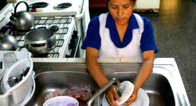 Según INEI, en el Perú hay 357,000 trabajadoras del hogar.