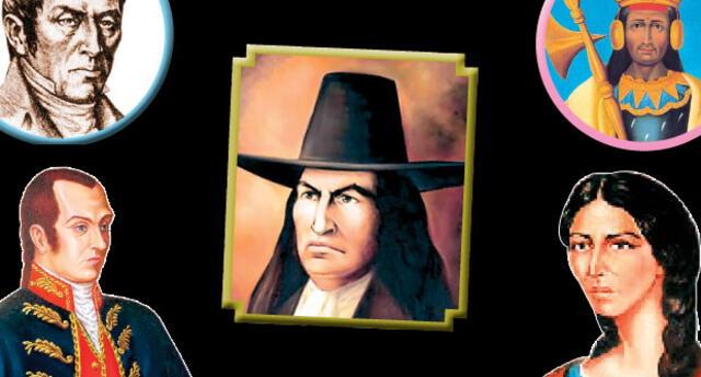 Conoce a los próceres de la Independencia del Perú.