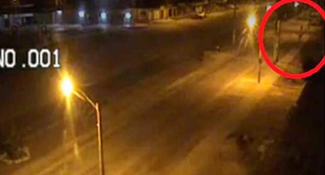 Fantasma en Nuevo Chimbote.