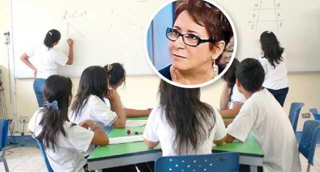 Pretenden que escolares lleguen vírgenes hasta el matrimonio. Al lado, Susana Chávez, de Promsex.