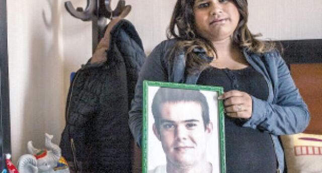 Leydi Figueroa se casó el año pasado en el penal de Piedras Gordas.