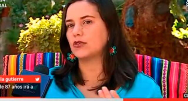 Desde Cusco Veronica Mendoza anunció que postulará en las elecciones del 2021