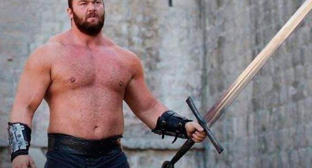 El islandés se viene preparando para convertirse en el hombre más fuerte del mundo