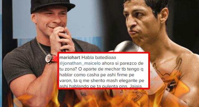 Jonathan Maicelo recibió el más duro golpe en Instagram