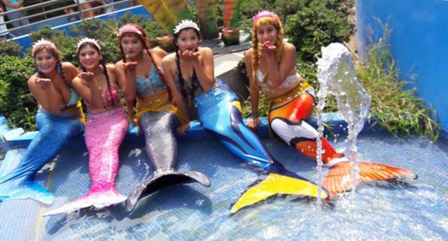 Las sirenas del acuario más grande del país en Huachipa serán bautizadas este domingo