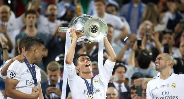 Cristiano Ronaldo ya ganó dos títulos de la Champions League con Real Madrid y va por la tercera