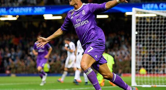 Cristiano Ronaldo anota segundo en la final de Champions League 2017