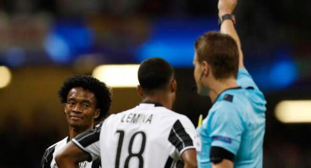El internacional 'cafetero' Juan Cuadrado se convirtió en el primer colombiano en jugar una final de Champions League