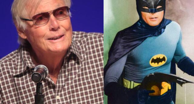 """Adam West interpretó a """"Batman""""  en la TV"""