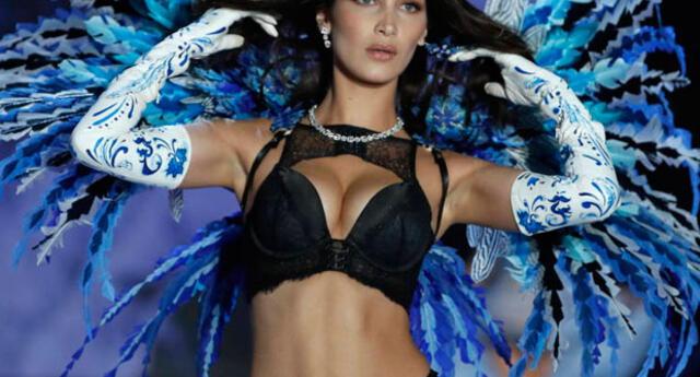Bella Hadid deslumbra en pasarela del Victoria's Secret Fashion