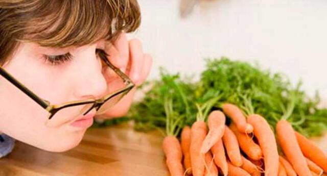Consumo los alimentos esenciales para tener una buena salud visual