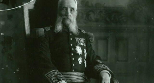 Retrato del gran Andrés Avelino Cáceres, el Brujo de los Andes