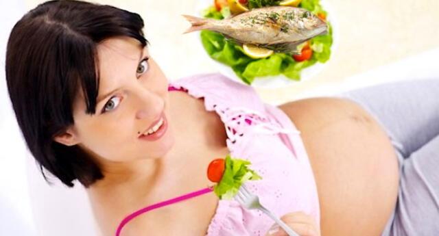Comer pescado favorece un parto sin complicaciones