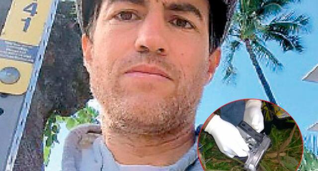 Policía encontró arma de ciudadano canadiense Sebastián Woodroffe