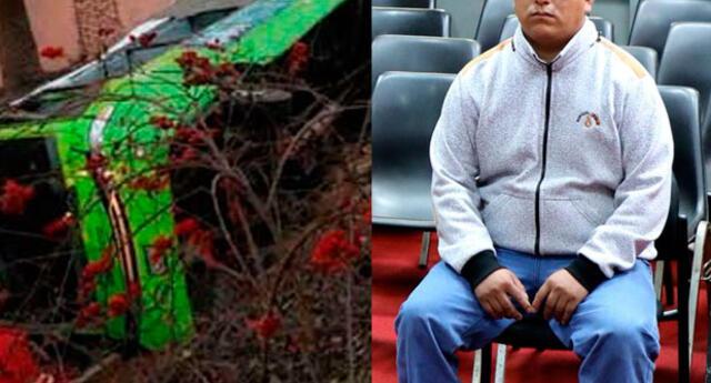 Poder Judicial condenó 8 años de prisión al chofer del bus Green, Goytzon Bravo Tocas