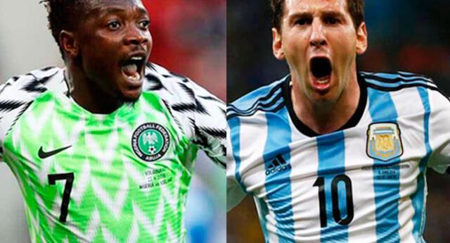 Argentina se enfrenta a Nigeria buscando clasificar a octavos de final en Rusia 2018