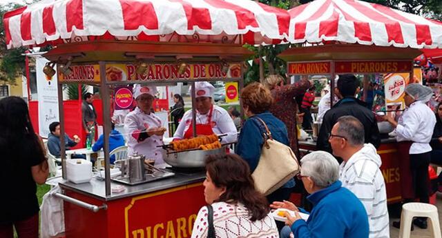 Festival gastronómico por la celebración del Bicentenario en nuestro país