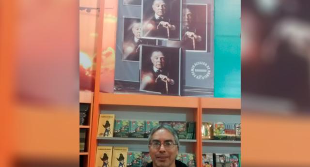 El escritor Carlos Rengifo presentará su novela inspirada en la vida de Jorge Luis Borges