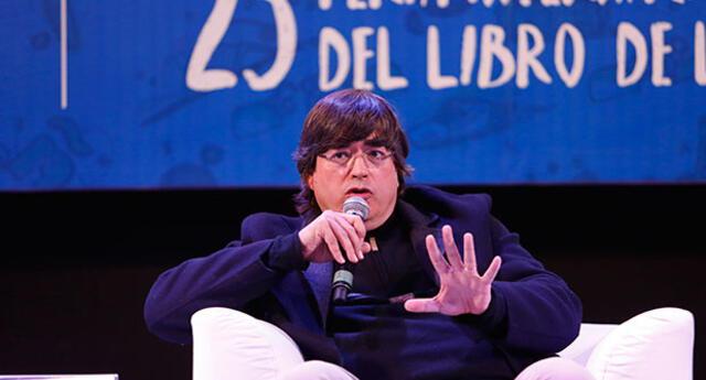 Jaime Bayly provocó histeria en 'Feria del Libro'