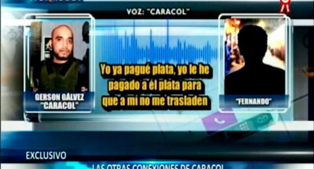 """Gerson Gálvez (a) """"Caracol"""" y sus nexos criminales"""