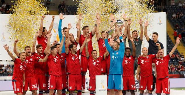 Los bávaros celebran un nuevo título