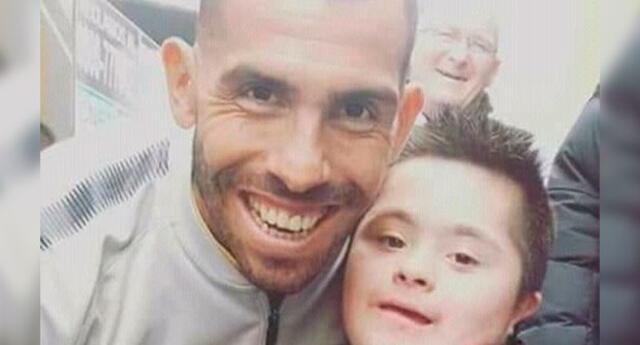 Tevez tuvo amoroso gesto con pequeño hincha de Boca Juniors