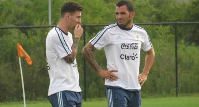 Tévez habló de Messi y Cristiano