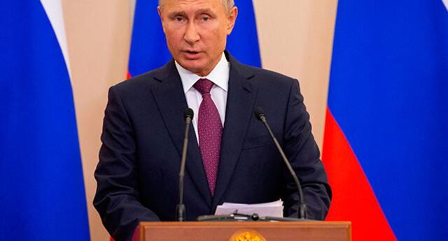 Presidente de Rusia responderá ataque