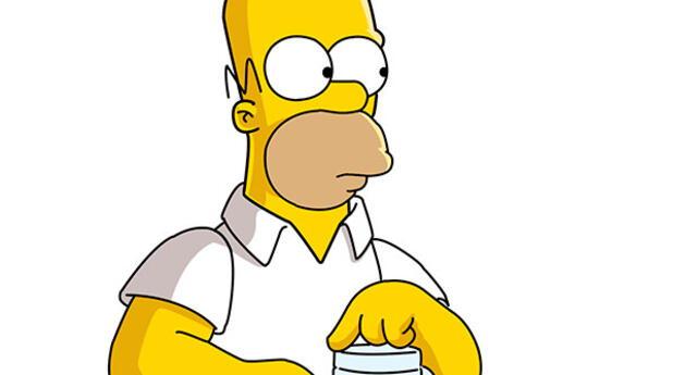 Usuario imitó a Homero Simpson