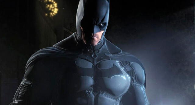 Batman al desnudo por completo
