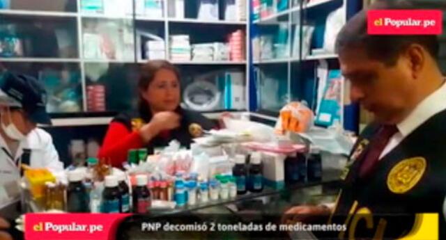 Medicamentos adulterados en Unicachi