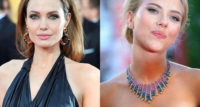 Angelina Jolie y Scarlett Johannson tienen miles de fanáticos