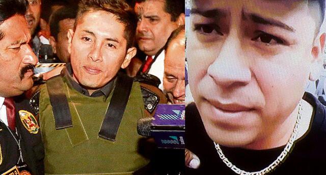 Junior Tarazona Acher (alias 'Jota') y Gerald Oropeza