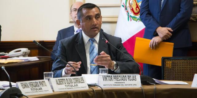 Víctor Preciado, presidente interino del IPD