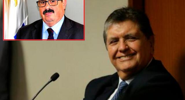 Alan García sigue alojado en la casa del embajador de Uruguay