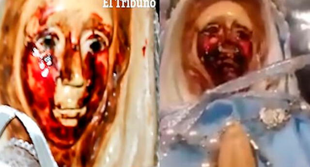 Rosa Mística habría llorado sangre 37 veces más